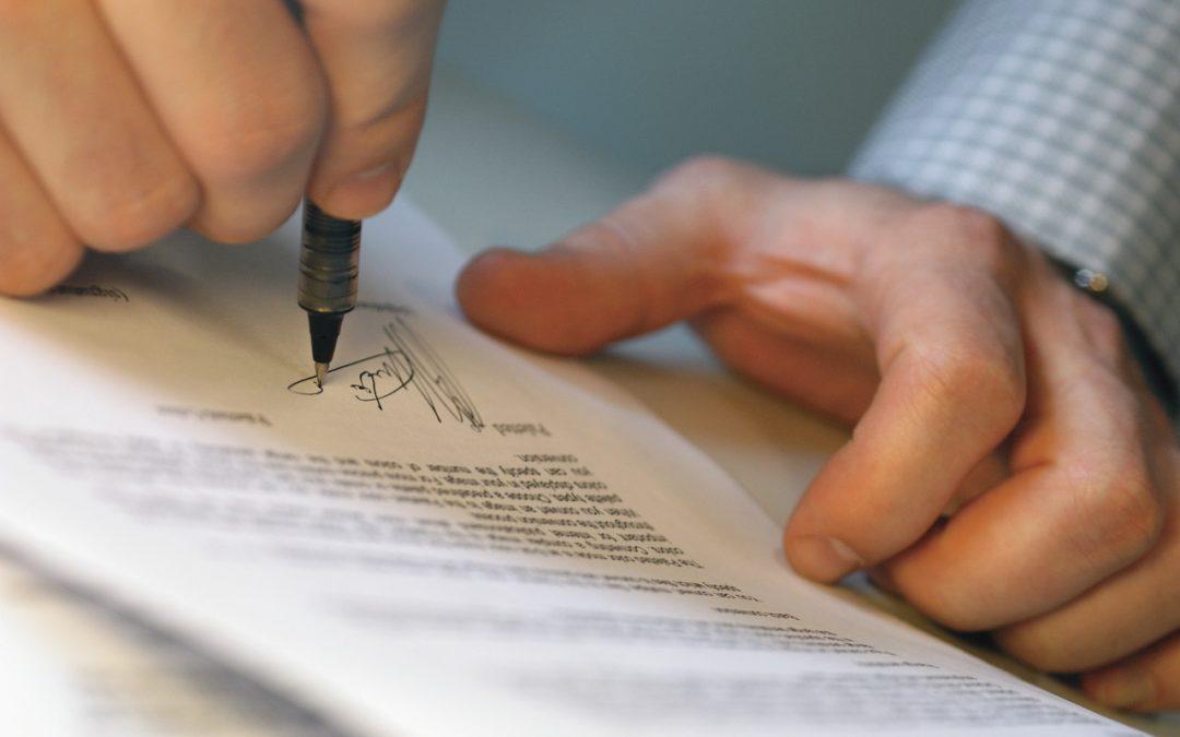 Letter stating risks