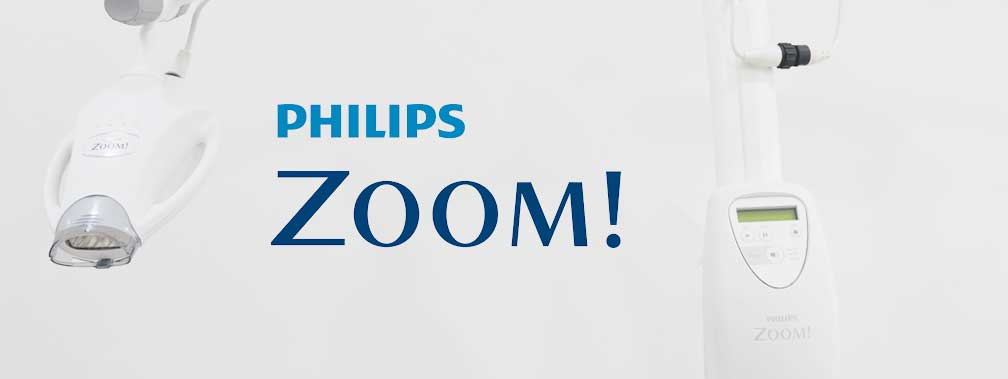 Philips Zoom in-office whitening products